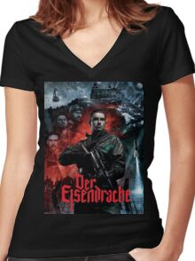 Call of Duty: Black Ops 3 Zombies - Der Eisendrache Artwork Women's Fitted V-Neck T-Shirt