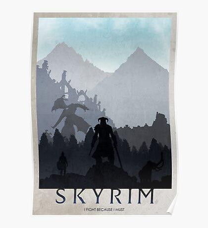 Skyrim Poster