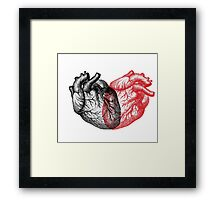 Heart made from Hearts Framed Print