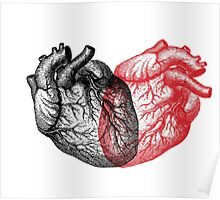Heart made from Hearts Poster