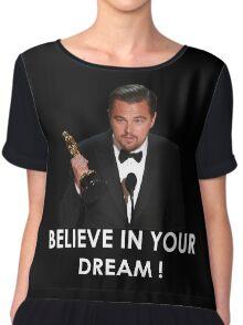 Leonardo Dicaprio Oscar dream Chiffon Top