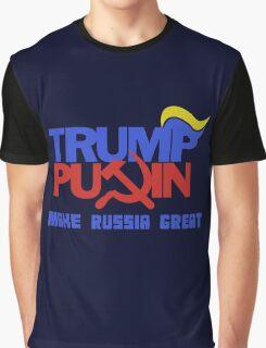 Trump Putin 2016 - Make Russia Great Again Graphic T-Shirt