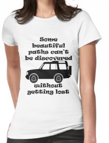 Discovery - Beautiful Paths Womens Fitted T-Shirt