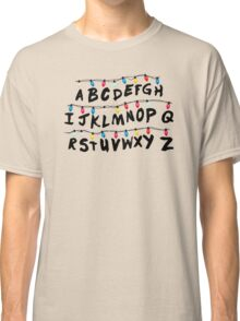 Stranger Things - Alphabet Wall Classic T-Shirt