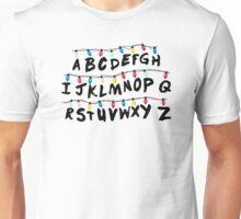 Stranger Things - Alphabet Wall Unisex T-Shirt