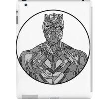 Black Panther Line Drawing iPad Case/Skin