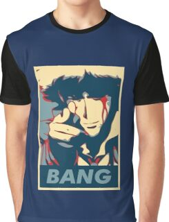 Bang - Spike Spiegel Graphic T-Shirt