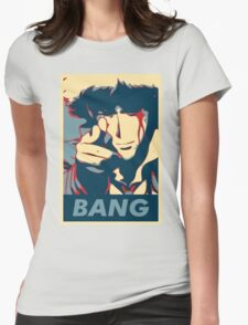 Bang - Spike Spiegel Womens Fitted T-Shirt
