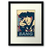 Bang - Spike Spiegel Framed Print