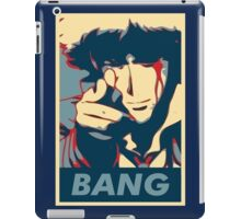 Bang - Spike Spiegel iPad Case/Skin