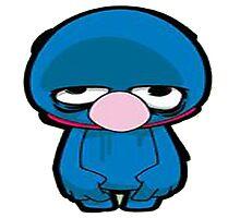 Cookie Monster sad Photographic Print
