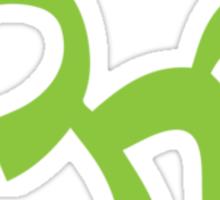 Ohm, Grass Green Sticker