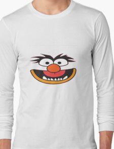grover smile Long Sleeve T-Shirt