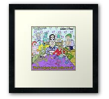 I Have Friends & Am Okay Framed Print