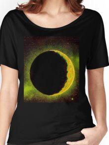 Shining Moon Women's Relaxed Fit T-Shirt