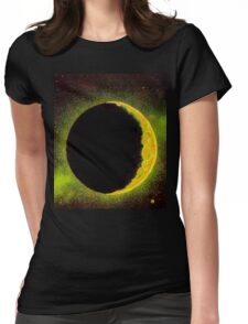Shining Moon Womens Fitted T-Shirt