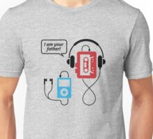 MP3 player, I am your father Unisex T-Shirt