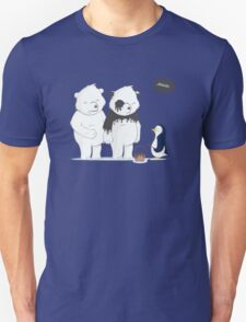 Penguin Become To Panda Unisex T-Shirt