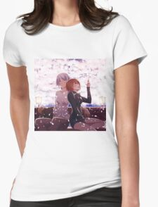 Summer Blossoms Womens Fitted T-Shirt
