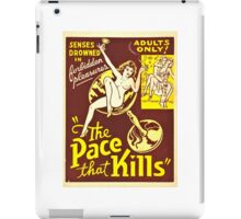 The Pace That Kills (1935) iPad Case/Skin
