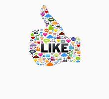 Like Social Media Unisex T-Shirt
