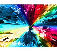 Color Burst Photographic Print