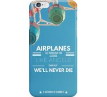 "5 seconds of summer ""airplanes"" iphone case iPhone Case/Skin"