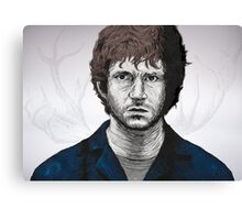 Somebody help Will Graham Canvas Print