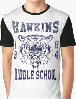 Hawkins Middle School Pride Graphic T-Shirt