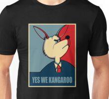 Yes we can - Yes we Kangaroo Unisex T-Shirt