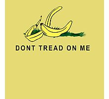 Vintage Banana Gadsen Flag Spoof Photographic Print