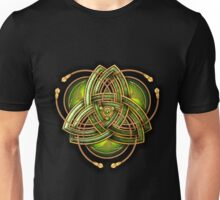 Green Celtic Triquetra Unisex T-Shirt