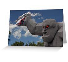 ╭∩╮( º.º )╭∩╮MONSTER MILE DOVER NASCAR ╭∩╮( º.º )╭∩╮ Greeting Card