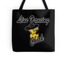 Line Dancing Chick #4 Tote Bag