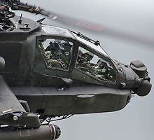 Boeing AH-64 Apache Gunship by Z3roCool