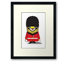 Palace Guard Minion Framed Print