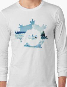 King's Rock - Gyarados Long Sleeve T-Shirt