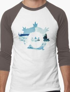 King's Rock - Gyarados Men's Baseball ¾ T-Shirt