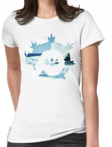 King's Rock - Gyarados Womens Fitted T-Shirt