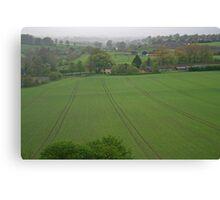 Wiltshire Landscape Canvas Print