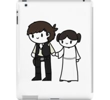 Han&Leia iPad Case/Skin