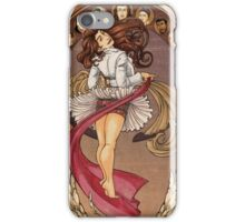 I told you she was a woman iPhone Case/Skin