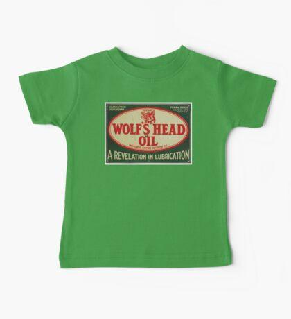 Vintage Motor Oil sign Baby Tee