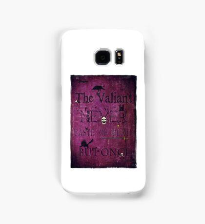 The Valiant Samsung Galaxy Case/Skin
