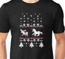 Unicorn Stab Ugly Christmas  Unisex T-Shirt