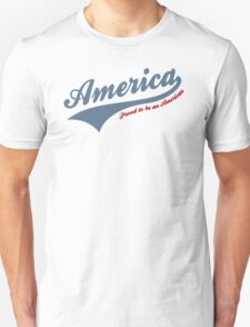 America Proud To Be American T-Shirt