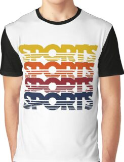 Vintage Sports Graphic T-Shirt
