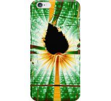 Fractal Leaf Matrix iPhone Case/Skin