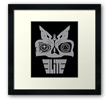 SKULL ELITE Framed Print
