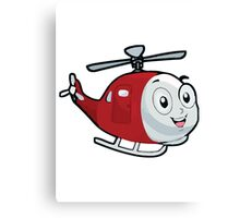 Baby Helicopter Canvas Print